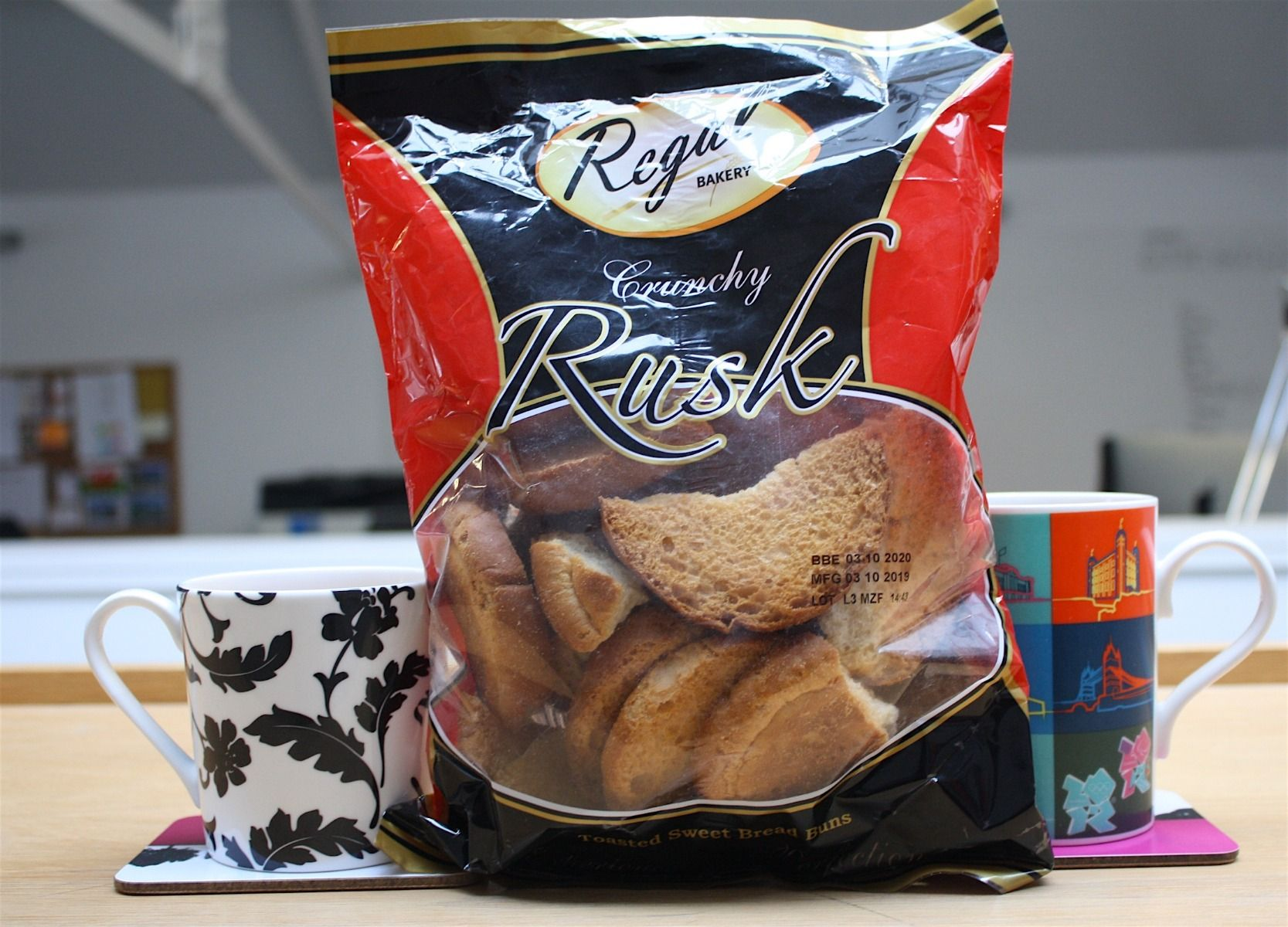 Regal Crunchy Tea Rusks Dunking Challenge