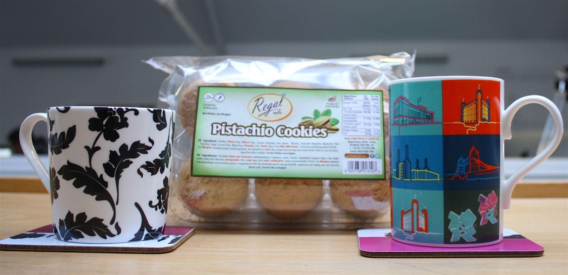 Regal Pistachio Cookies Dunking Challenge