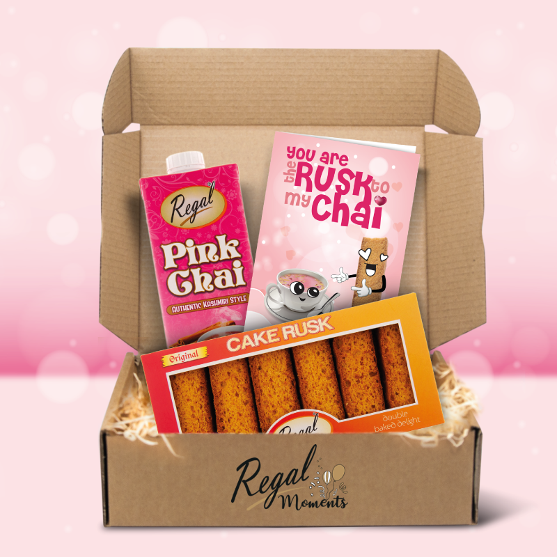 Regal Valentine's Day Gift Box