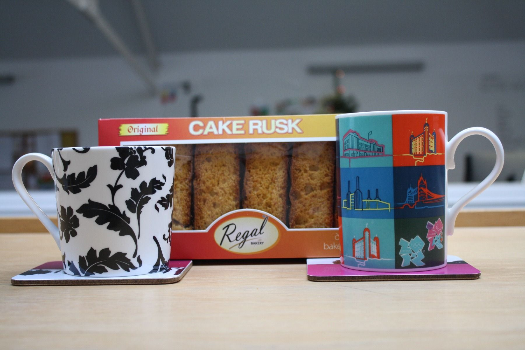 Regal Original Cake Rusks Dunking Challenge