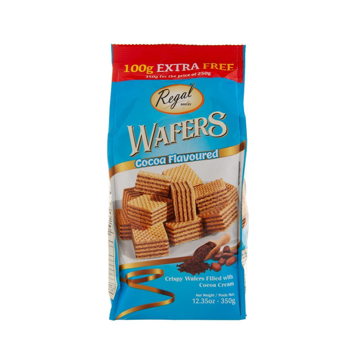 Wafers milk chocolate pack